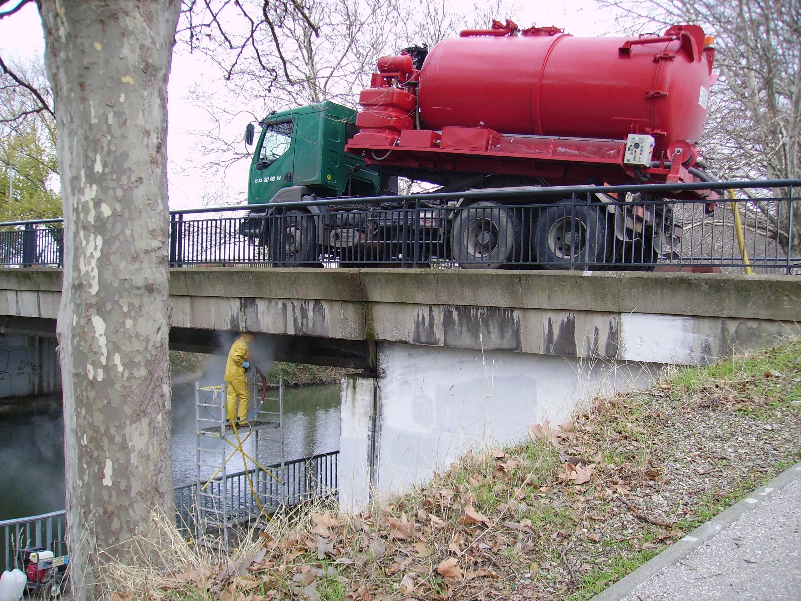 nettoyage Industriel pont